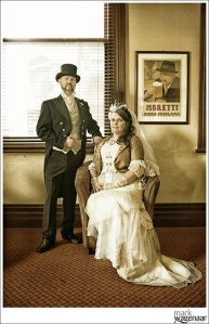 Styling the old Victorian era photos
